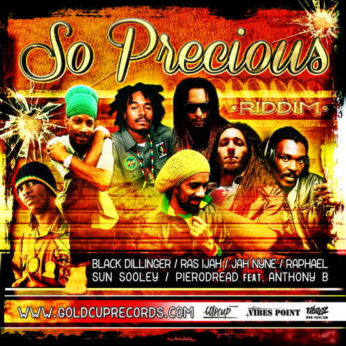 So Precious Riddim - Flowin Vibes Official Mix (Vibes Point / Goldcup Records)
