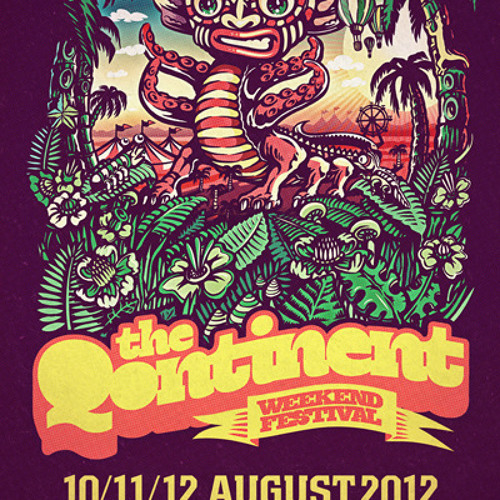 Evolver - The Qontinent 2012 Liveset [Camping Pre-party 10-08-2012]