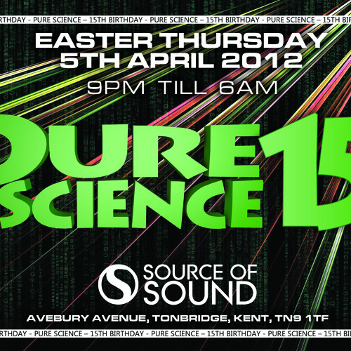 BROCKIE/DET/SKIBADEE/SHABBA/FEARLESS/BASSMAN/TRIGGA - Pure Science 15th Birthday