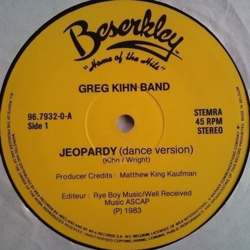 Jeopardy (Ilya Santana Instrumentfunk edit) (96Kps)