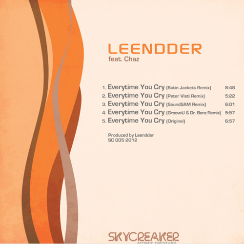 Leendder - Everytime You Cry feat. Chaz (GrooveU & Dr.Benz Remix)  Preliminary