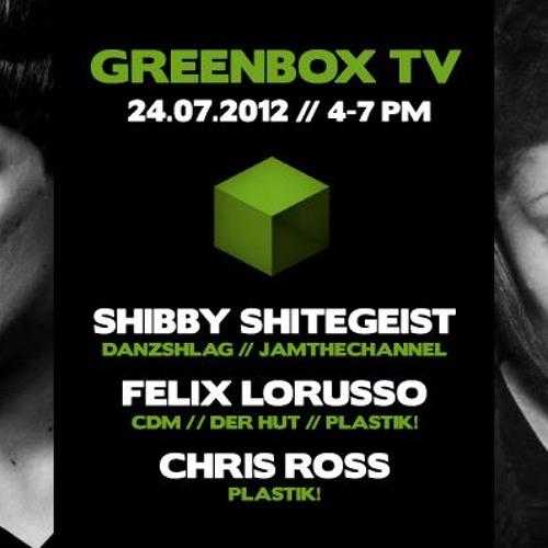 Shibby Shitegeist > Recorded @ Greenbox TV | Hamburg (24.7.2012)