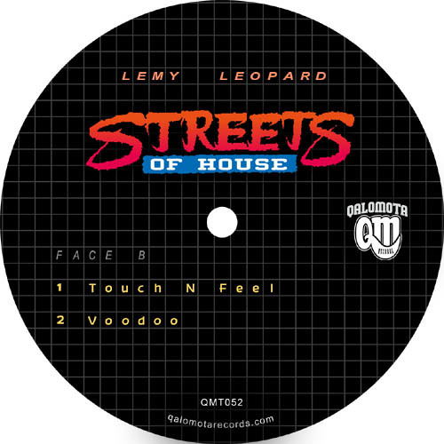Lémy Leopard - Streets Of House  (Sample Of 4 Tracks From QMT052)