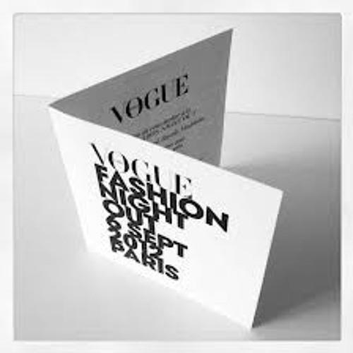 "Playlist Apostrophe - ""Vogue Fashion Night"" (06-09-12)"