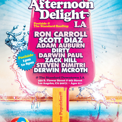 Adam Auburn - Live at Afternoon Delight LA @ The Standard Rooftop (July 21, 2012)