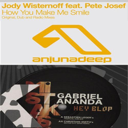 Jody Wisternoff,Pete Josef v Gabriel Ananda,Christian Smith- Blop Makes Me Smile(Nick Pizetoski Mix)