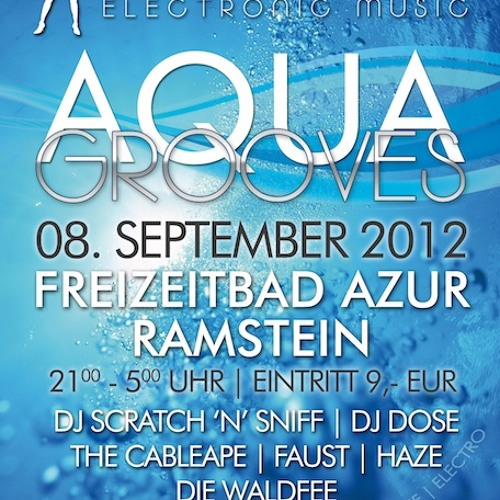 2012-09-08 Die Waldfee - Livemix at Aqua Grooves