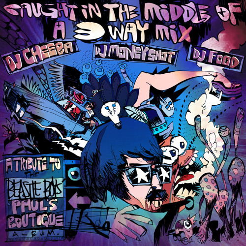 Caught In The Middle of A 3-Way Mix by DJ Food | Free