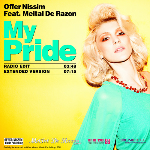 Offer Nissim Feat. Meital De Razon - My Pride (Radio Edit)