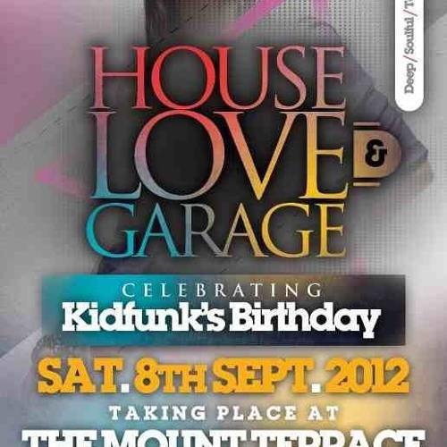 Jerome Six Live @ House,Love & Garage (Mount Terrace) - 08/09/12
