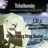 String Quartet No. 3 in E Flat Minor, Op. 30: IV. Finale. Allegr