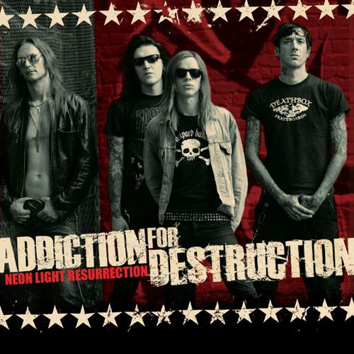 """ADDICTION FOR DESTRUCTION """"Neon Light Resurrection"""" album preview"""