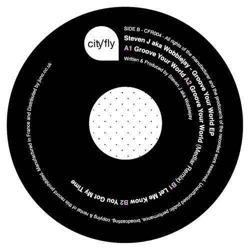 A2 - STEVEN J AKA WOBBLEJAY - GROOVE YOUR WORLD (MEDLAR REMIX) [CFR004]