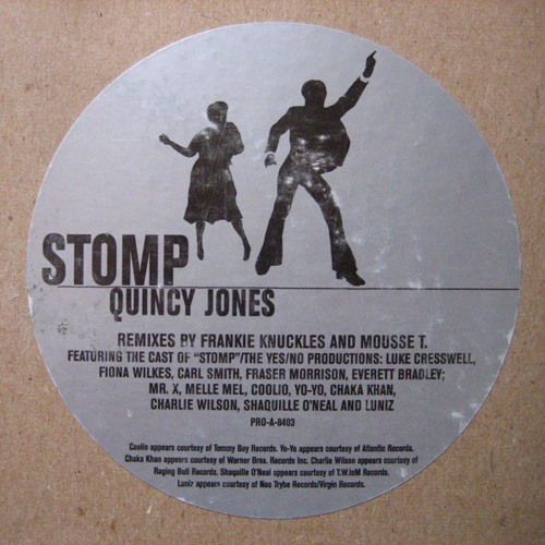 Quincy Jones - Stomp (Mousse T.'s Ultimate Stomper)