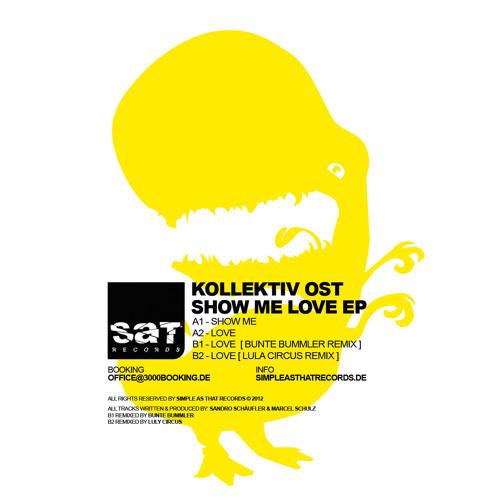 B1 - Kollektiv Ost - Love (Bunte Bummler´s Dirty Love Remix) snippet