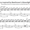 Fantasy inspired by Beethoven's Moonlight Sonata (Sheet Music Now Available!)