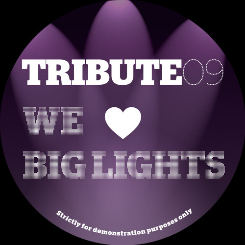 We Love Big Lights - Keep Schtum/Didgifunk Re Edit