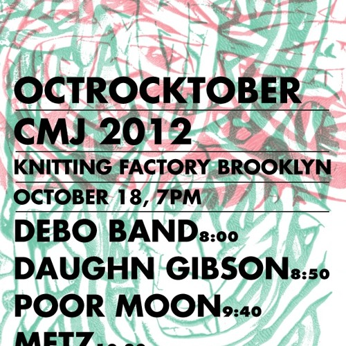 OCTROCKTOBER: Sub Pop at CMJ 2012