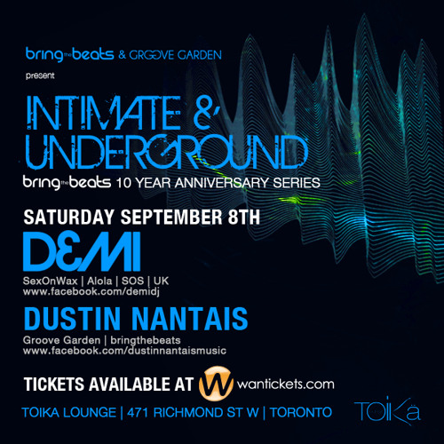 Dustin Nantais - INTIMATE & UNDERGROUND v13 - September 8, 2012 - Part 2
