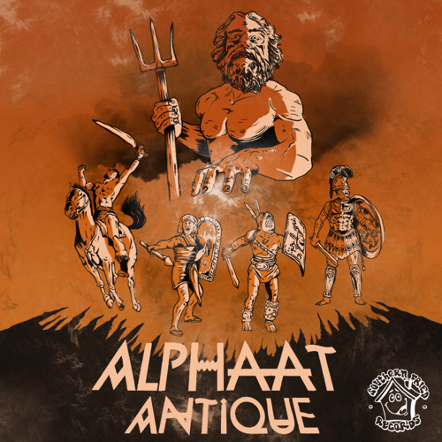 Alphaat  - Arès - Antique EP (Southern Fried Records)