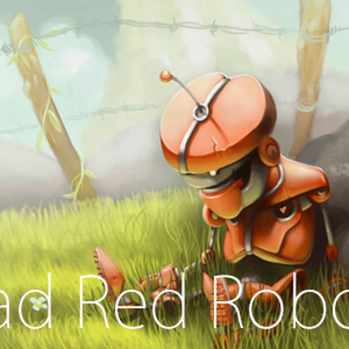 Sad Red Robot