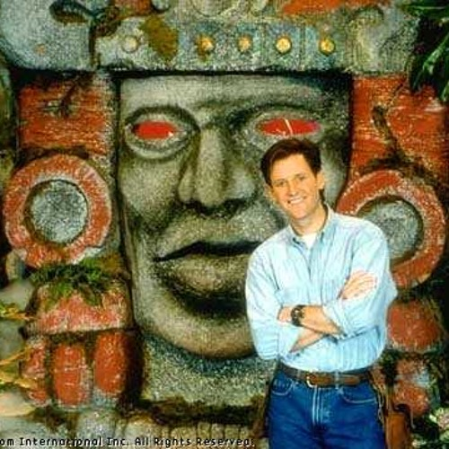 """Kirk Fogg, host of """"Legends of the Hidden Temple"""" on The Sean Varicalli Show"""