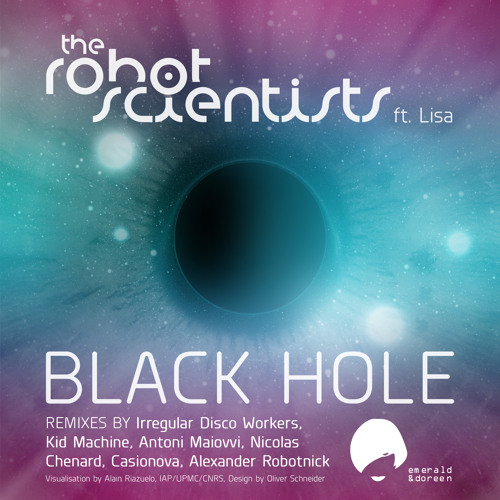 EDR 01 The Robot Scientists - Black Hole - Kid Machine, Robotnick etc. Remixes - released