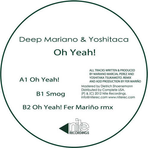 Deep Mariano & Yoshitaca - Smog [Snippet] | OUT NOW!!!
