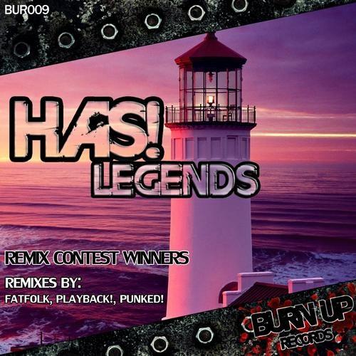 HAS! - Legends EP Part. 2 - [BUR009]