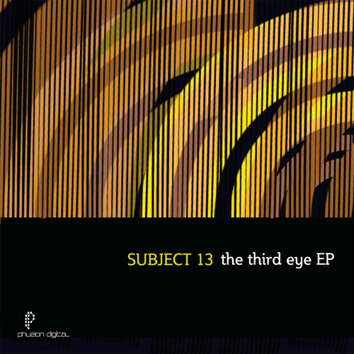 Subject 13 - The 3rd Eye EP (PZD026)