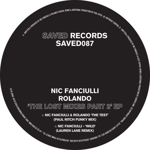 Nic Fanciulli – Wild (Lauren Lane Remix)