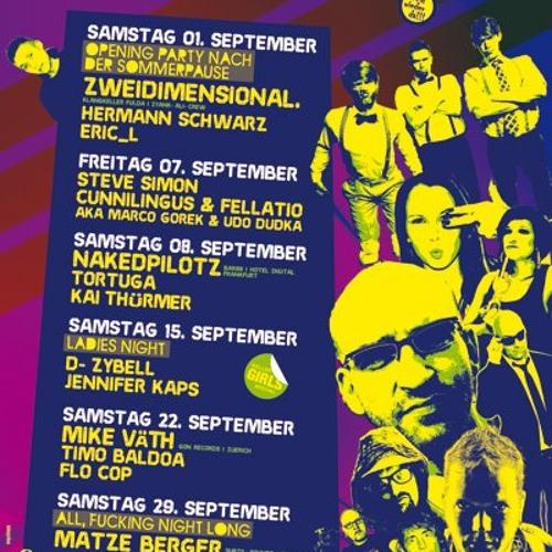 07-09-2012 -  Steve Simon @ Kunstkeller (Giessen)