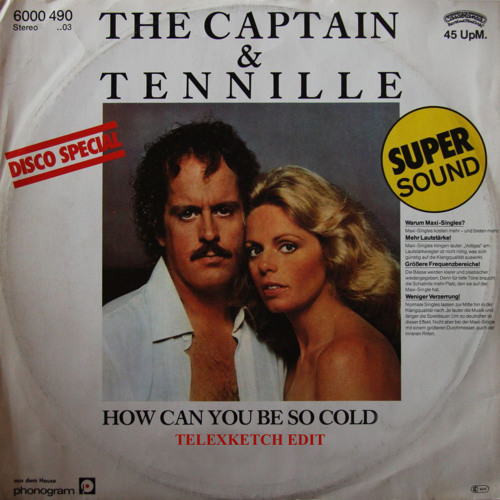 Captain & Tennille - How Can you Be So Cold (Telexketch Edit)