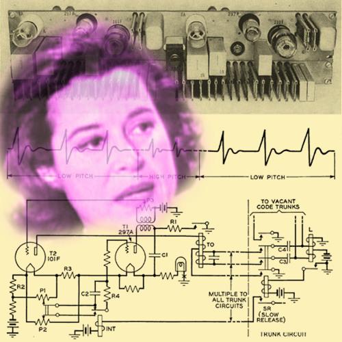 """Kitty Carlisle - """"No Such Number"""" Tone Generator (vacuum tube analog circuitry)"""