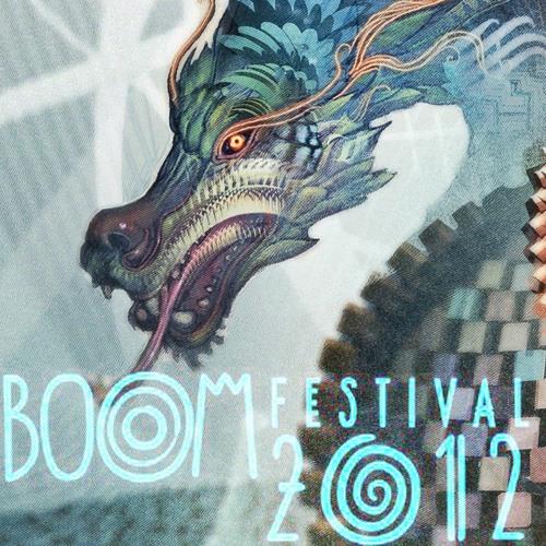 Diogo Ribeiro - Live at the Boom Festival 2012 - Alchemy Circle