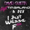 David Guetta - I Just Wanna F (feat. Timbaland and Dev) (Rays1n Remix)