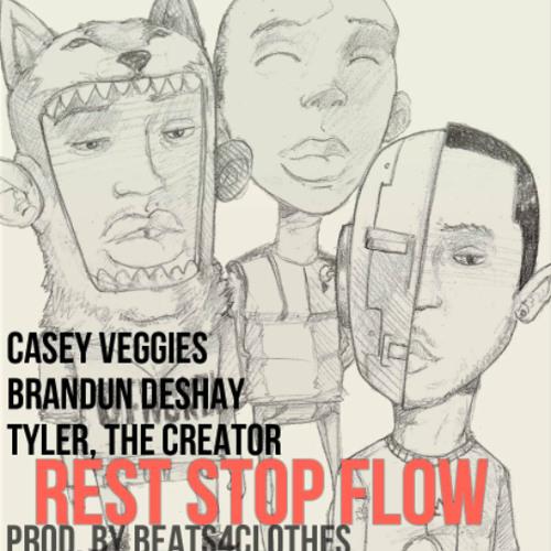 Casey Veggies, bRanDun Deshay & Tyler, the Creator - Rest Stop Flow (Prod. by Beats4Clothes)