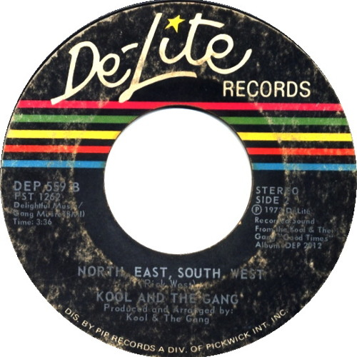 Kool and the gang - north,east,south,west