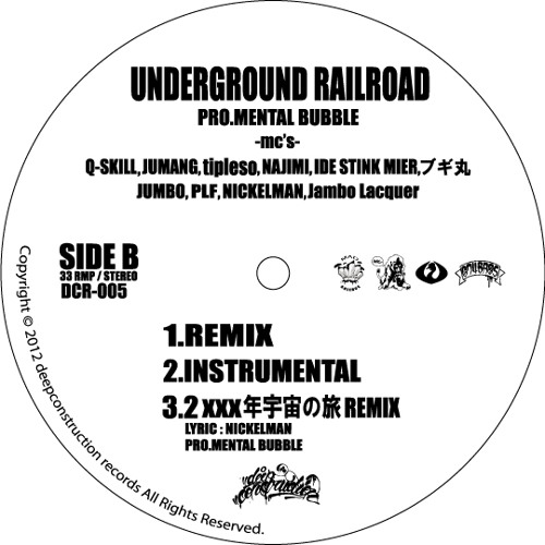 underground railroad -senna remix-