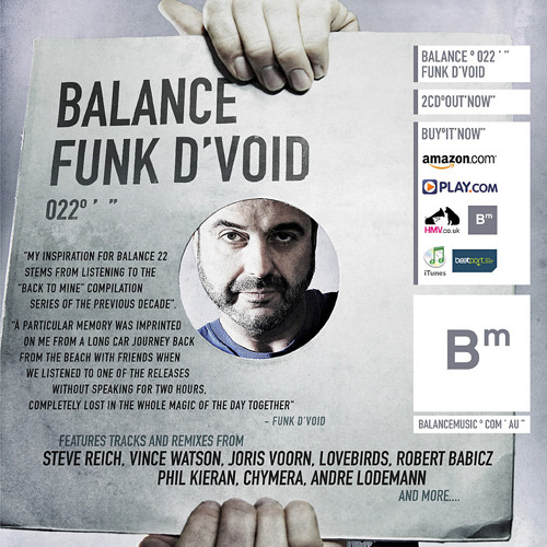 Funk D'Void - Balance 022 CD02 (Preview Edit)