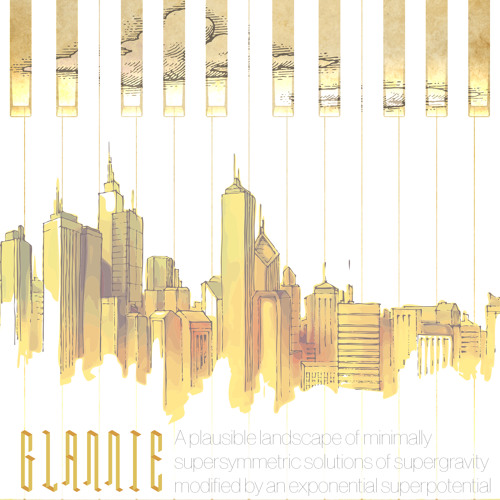 Glannie - A Plausible Landscape Of Minimally Supersymmetric Solutions Of Supergravity Modified By...