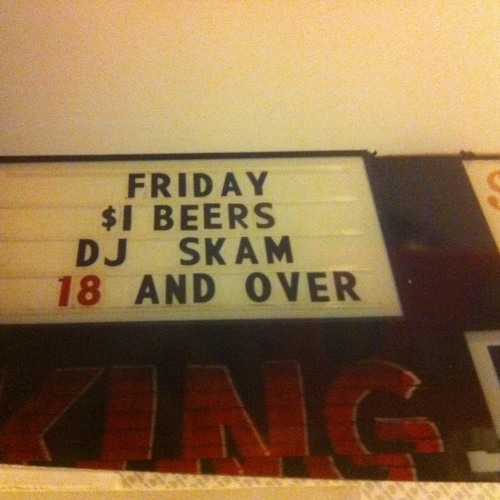 DJSKAM LIVE FROM THE UNDERGROUND- DJSKAM