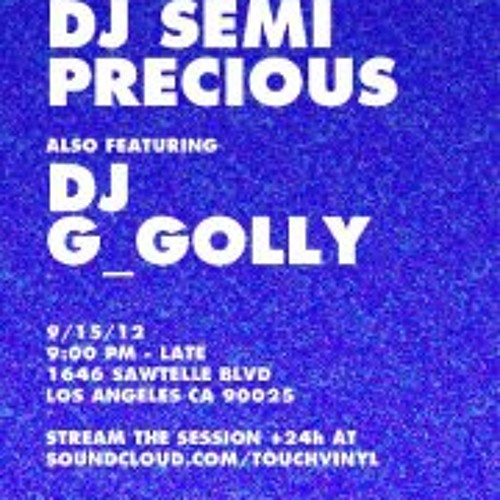 G GOLLY LIVE TOUCH SEPT 15