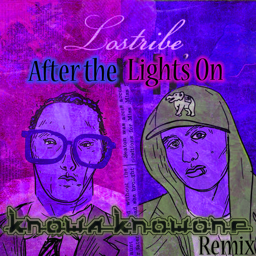 After The Lights On (feat. The Grouch) Knowa Knowone Remix