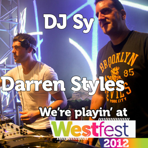 Darren Styles, Sy and MC Storm from Westfest 2011 Main Stage