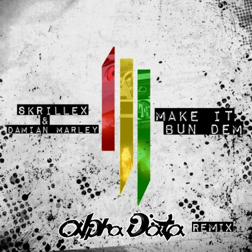 Skrillex ft. Damian Marley - Make it Bun Dem (Alpha Data Remix) -- FREE DOWNLOAD!