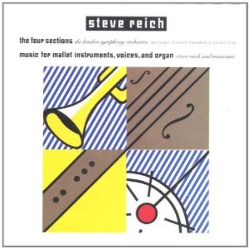 Steve Reich - 'The Four Sections [Part III]' (Simplex Remix) PREVIEW