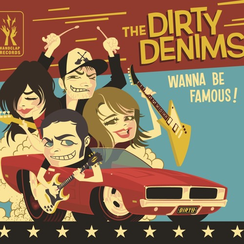 HIT ME WITH YOUR BEST SHOT - THE DIRTY DENIMS (2012)