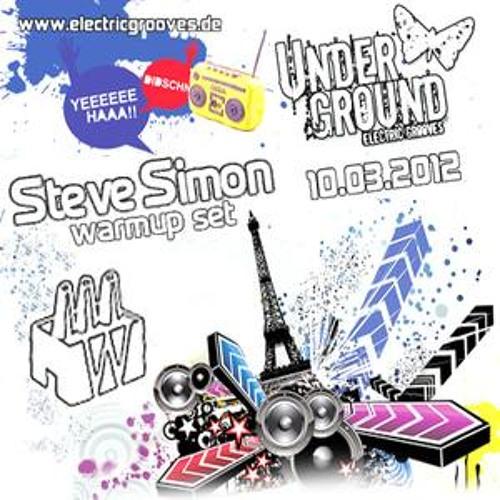 10-03-2012 - Steve Simon | Electric Grooves @ Tanzhaus West (FFM)