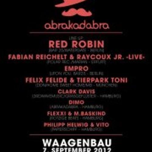 Fabian Reichelt & Raycoux Jr.-live@Waagenbau, Hamburg 2012-09-07